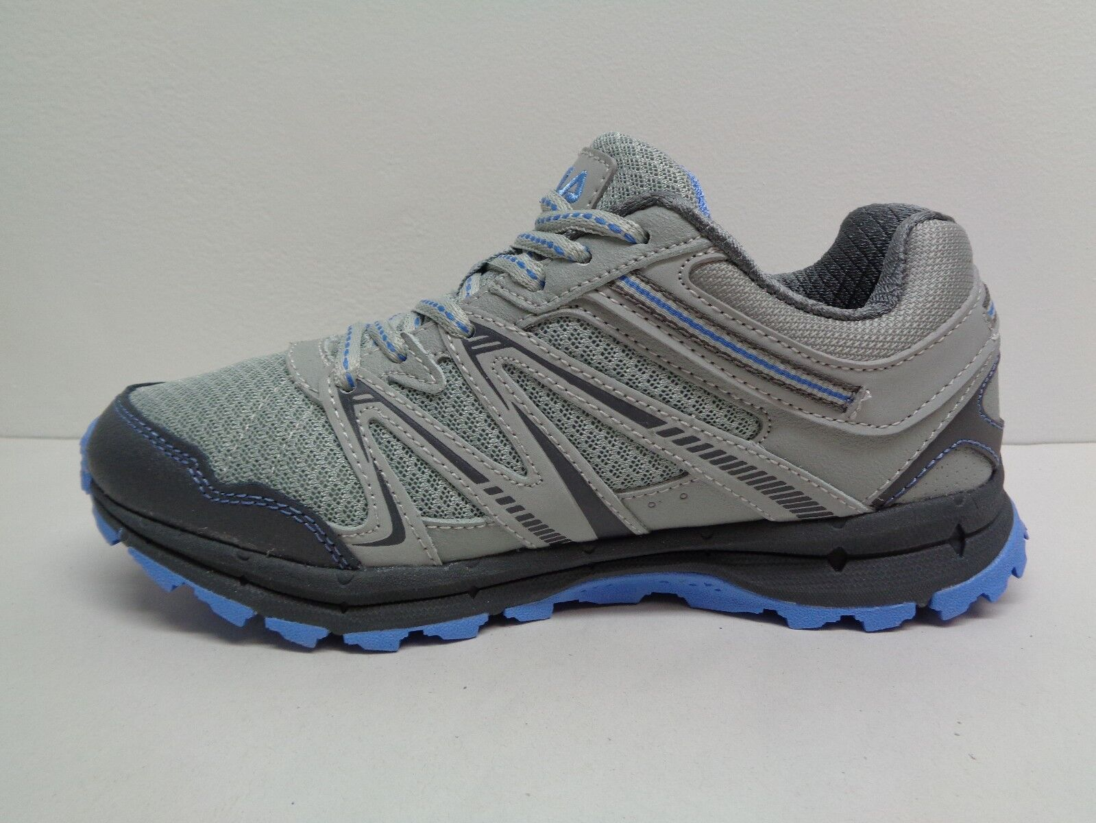 Fila Size 9.5 NORTHAMPTON Grey Light Light Grey Blue Trail  New Donna Shoes e93b16