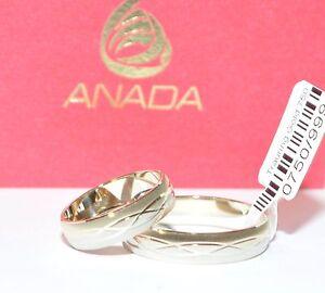 1 Paar Trauringe Eheringe Hochzeitsringe Gold 750 Breite 5mm