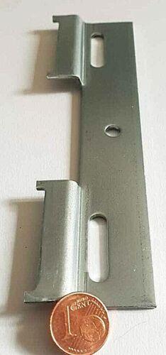 6 Pièce de Cuisine oberschrank rembourrée RAIL ARMOIRE Cintre wandschiene 130 mm!
