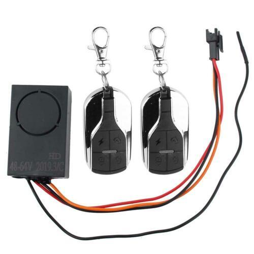 Wireless Remote Control Alarm Door Lock Motorcycle Electric Bike Vehicle Safety❤