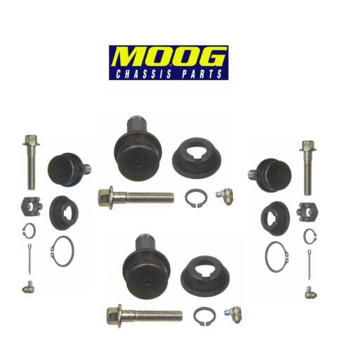 Set of 2 Front Lower /& Upper Ball Joints Moog for Chevrolet Dodge Ford Fargo