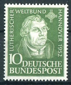 Bund-Nr-149-sauber-postfrisch-BRD-Martin-Luther-1952-MNH