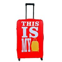 Protective Washable Travel Trolley Suitcase Luggage Cover L Size Fits 26 28 3...
