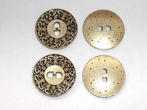 8 pièce de métal Boutons bouton boutons costumes Bouton 20 MM vieux blanc nouveau inoxydable #963#