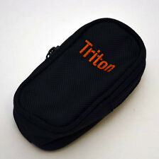 Genuine Magellan Triton GPS Travel ZIPPER Canvas Case Black 300 400 500 OEM
