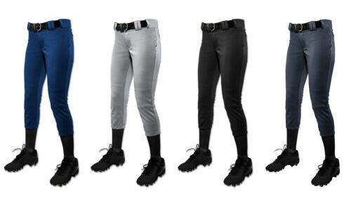 Low-Rise Fastpitch Softball Pants Champro GIRL/'S Tournament Traditional