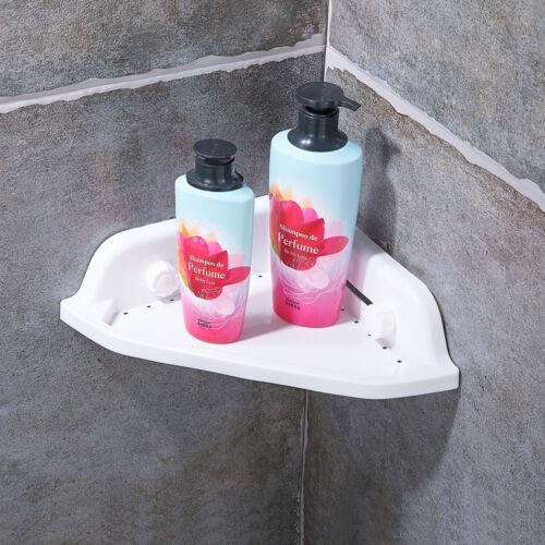 Shower Caddy Organizer Bathroom Suction Corner Holder Rack Cup Stainless Steel