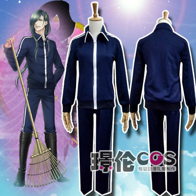 Touken Ranbu Online Nikkari Aoe Cosplay Costume Pants+Top Uniform Sportswear