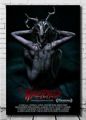 Details about  /Y343 Dangerous Lies TV Movie Horror 2020 Fabric Poster 20x30 27x40 Art Print