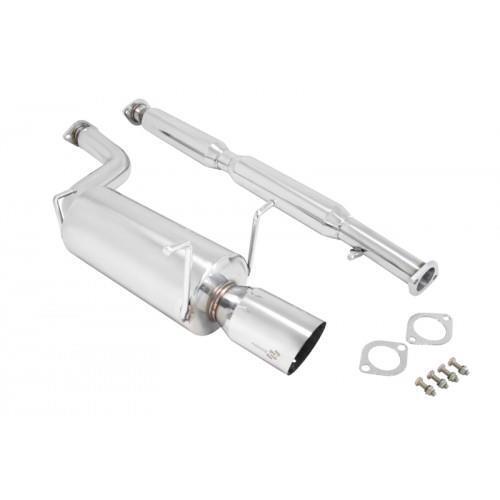 MANZO STAINLESS STEEL CATBACK EXHAUST MUFFLER FOR G35 4DR SEDAN 3.5L VQ35DE
