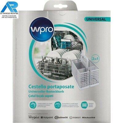 Cestello portaposate Wpro universale per lavastoviglie 484000008561 DWB304 2in1