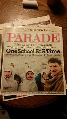 Lebron james winston salem journal parade magazine sunday april 6, 2003 |  eBay