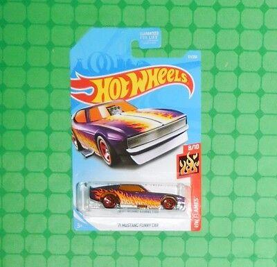 2019  Hot Wheels  Orange  /'71 MUSTANG FUNNY CAR  Kmart Exclusive Color 52-040619