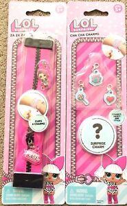 LOL Surprise Cha Cha Charms For Za Za Zips Bracelets