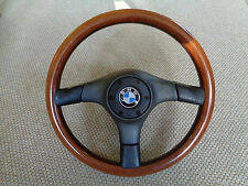 BMW E30 325i Lenkrad M-Technik Nardi Woodline Holzlenkrad 365mm
