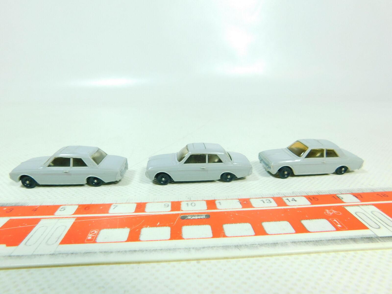 Bt605-0, 5  3x MÄRKLIN h0 voiture ford taunus 17 M pour 4613 autotransport voiture