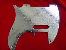 Etched Metal Stainless Steel Guitar Pickguard Scratchplate For