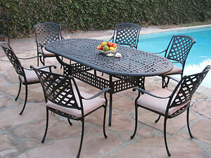 Image Is Loading Kawaii Collection Outdoor Cast Aluminum Patio Furniture 7