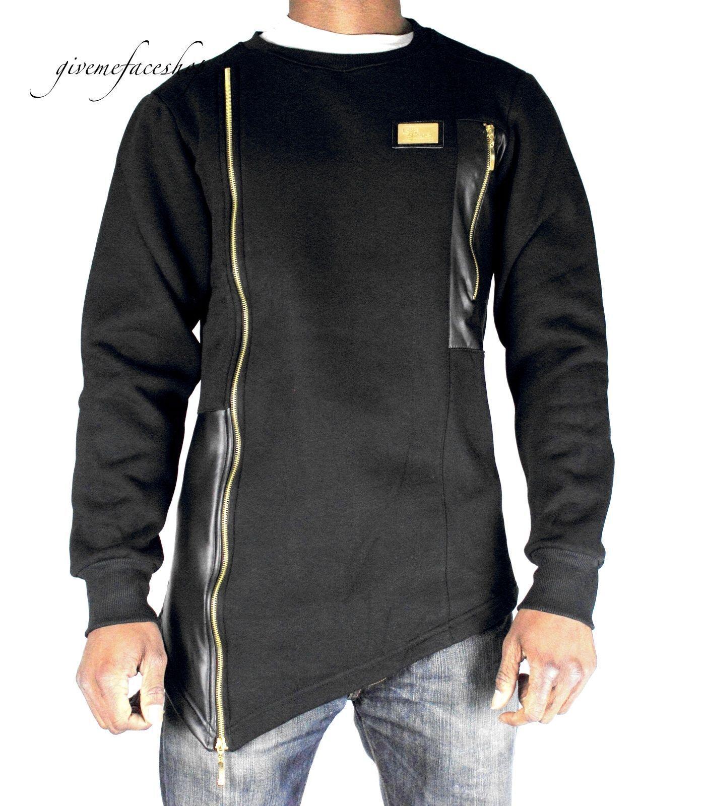Time Is Money Hip Hop Sweatshirt   Club-Star   Pulli Herren Designer Kunst Leder