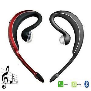 Wireless Bluetooth Headset Stereo Earphone Earhook For Samsung Iphone 8 8 Plus 7 Ebay