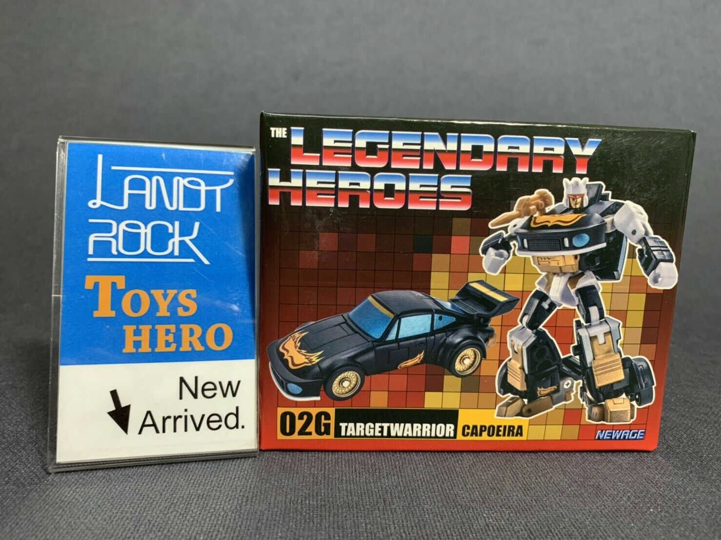 [giocattoli Hero] In He Transformers  nuovoage Target Warrior 02G Capoeira Limited ver.  consegna veloce