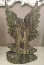 Aquila Tallado A Mano, Escultura En Madera