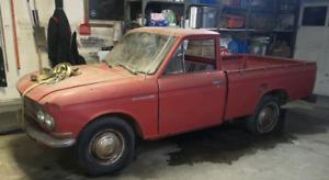 Barn find 1968 Datsun 520, 55000 original miles