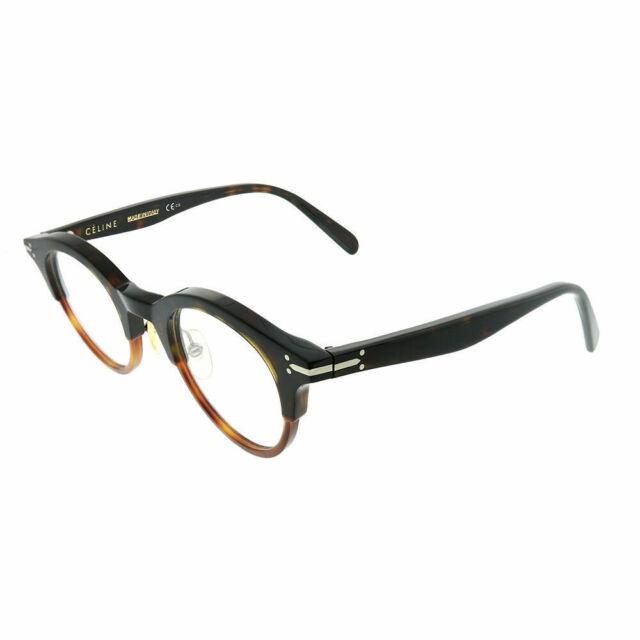 ee3ce3876a Celine Julia CL 41421 T6U Dark Havana Plastic Round Eyeglasses 45mm