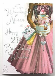 To a wonderful niece happy 21st birthday wishes very lovely 21 image is loading to a wonderful niece happy 21st birthday wishes bookmarktalkfo Image collections