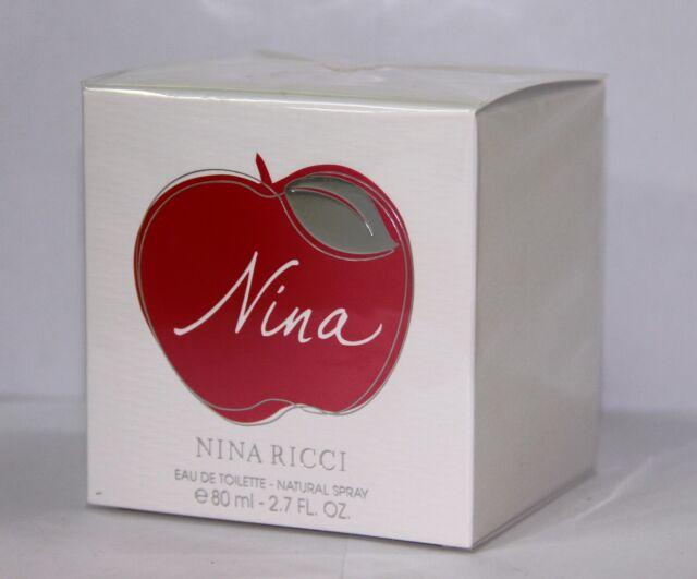 Nina Ricci Nina 2.7oz 80ml Women Eau de Toilette EDT New   Original   Sealed 78c5c8804