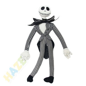 Hot The Nightmare Before Christmas Jack Skellington Plush Doll Kids Stuffed Toy