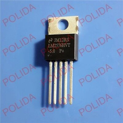 5PCS Step Down Voltage Regulator IC LM2576HVT-5.0 LM2576HVT-5.0//NOPB LM2576HVT-5