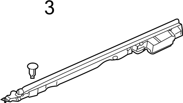 NISSAN OEM Fender-Seal Clip 0155308961