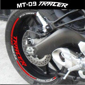 Details Zu Einfassung Felgen Motorrad Mt09 Tracer Aufkleber Satz Für 2 Felgen 40 Farbe