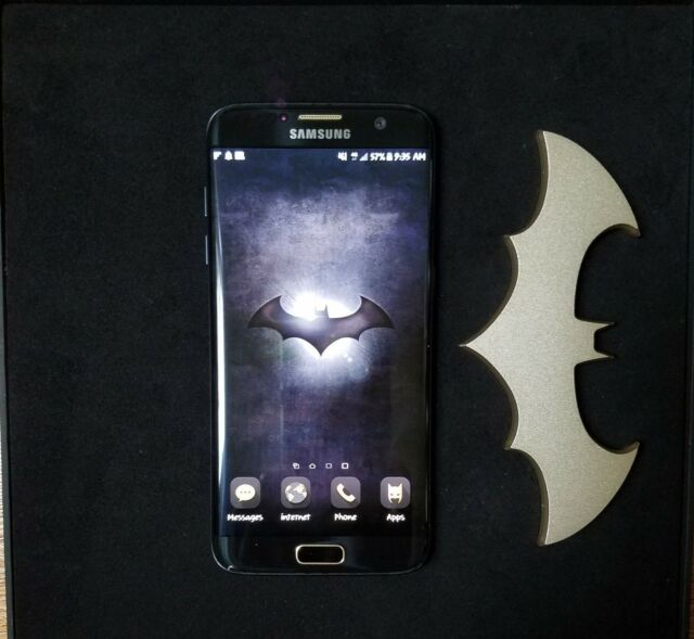 In Stock Unlocked Limited Edition Injustice Galaxy S7 Edge Samsung Batman 150 For Sale Online Ebay