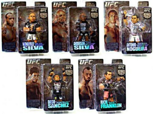 UFC Ultimate Collector Series 3 COMPLETE Set of 5 Limited Edition SILVA FRANKLIN