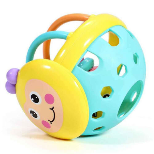 Baby Educational Kids Toys Bee Rattles Toy Hand Knocking Rattle Infant Bell G
