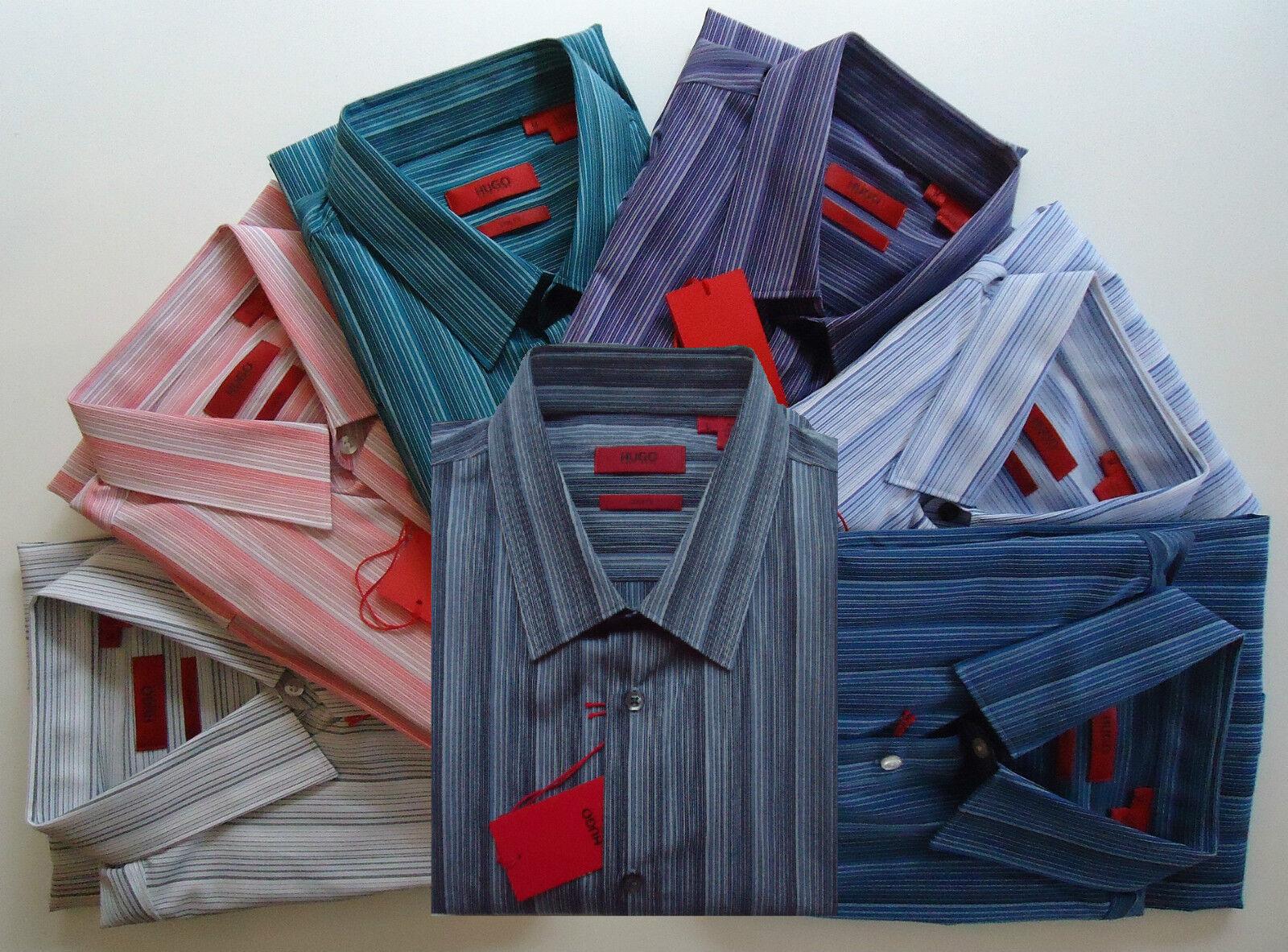 NWT HUGO (Red Label) by Hugo Boss Stripe Slim Fit Sport Shirt