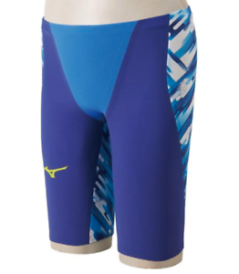 New MIZUNO Swimsuit Men GX-SONIC III ST FINA N2MB6001 Blue Size XS From Japan