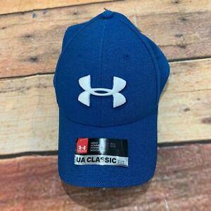 Under-Armour-Mens-Hat-Cap-MD-LG-Classic-Fit-NEW-Blue-NWT-UA