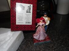 "RARE Disney Traditions Jim Shore Little Mermaid  ""Worlds Unite"" Ariel Enesco"