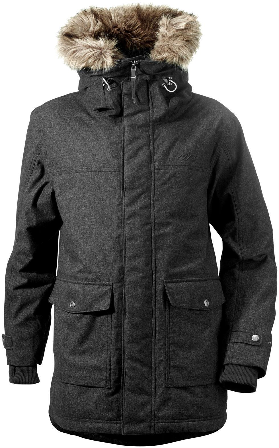 Didriksons Sven Mens Parka 100% Waterproof Insulated Fleece Lined