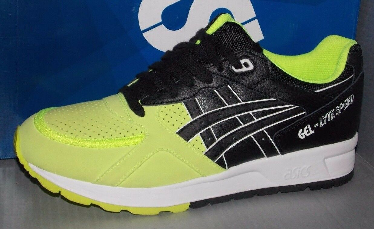 MENS ASICS GEL LYTE SPEED in colors SAFETY YELLOW   BLACK SIZE 10