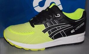 MENS ASICS GEL LYTE SPEED in colors SAFETY YELLOW   BLACK SIZE 10 ... 5c777eba96f8