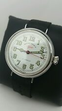 Vintage west end watch co military big jumbo size gents mens  watch