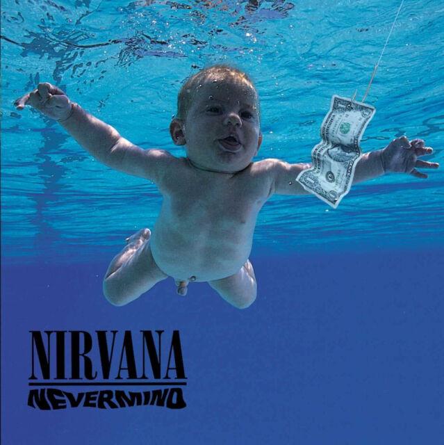 Nirvana 'Nevermind' LP 180g Vinile Nero - Nuovo e Sigillato