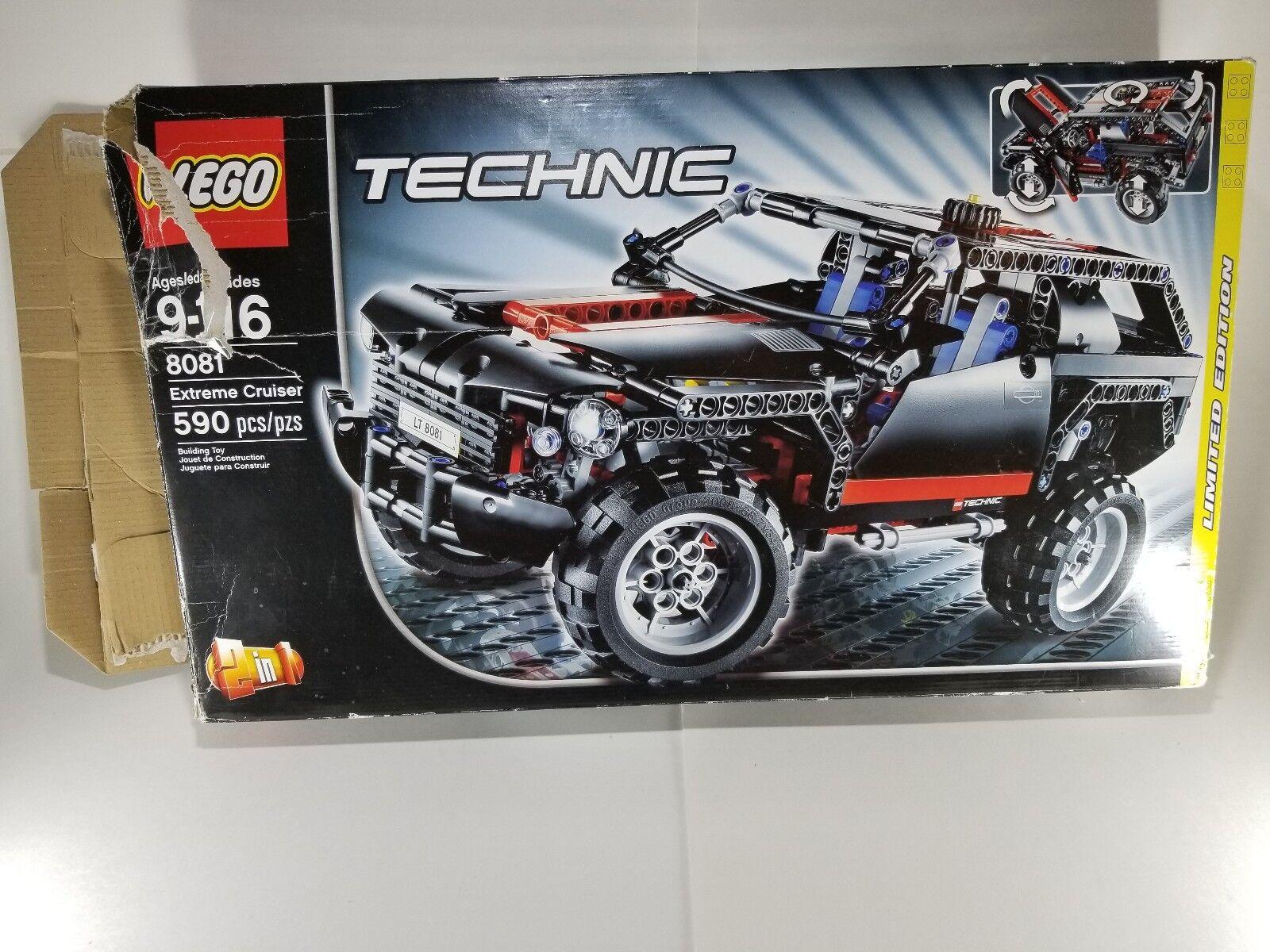 Lego Technic 80881 Extrem Cruise Ny öppen ruta saknas 1 -manual