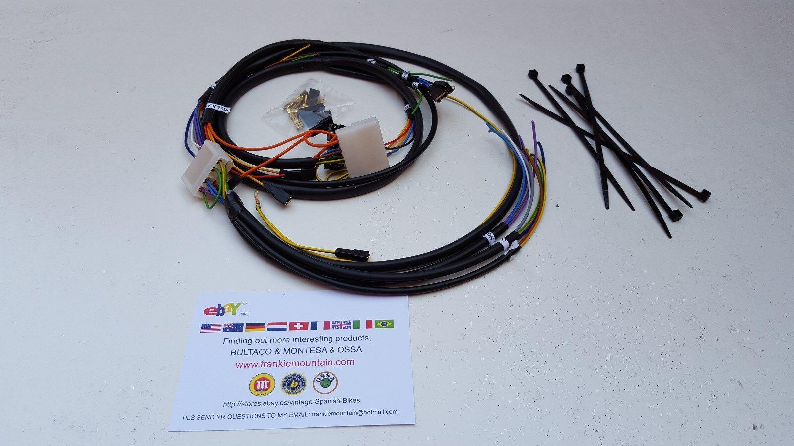 Montesa Enduro Wiring Harness Full Bike 250 H6 & 360 H6 | eBay