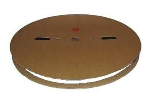 4.8mm Diameter 100 Meter Roll WHITE Heat Shrink Heatshrink Tube Tubing