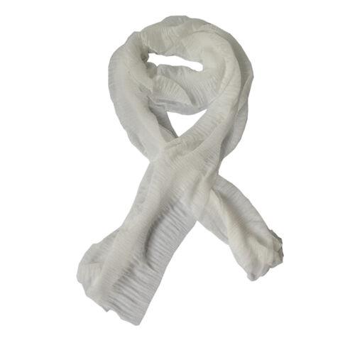 Frauen Damen Mädchen Stilvolle lange weiche Seide Chiffon Schal Wrap Schal tU